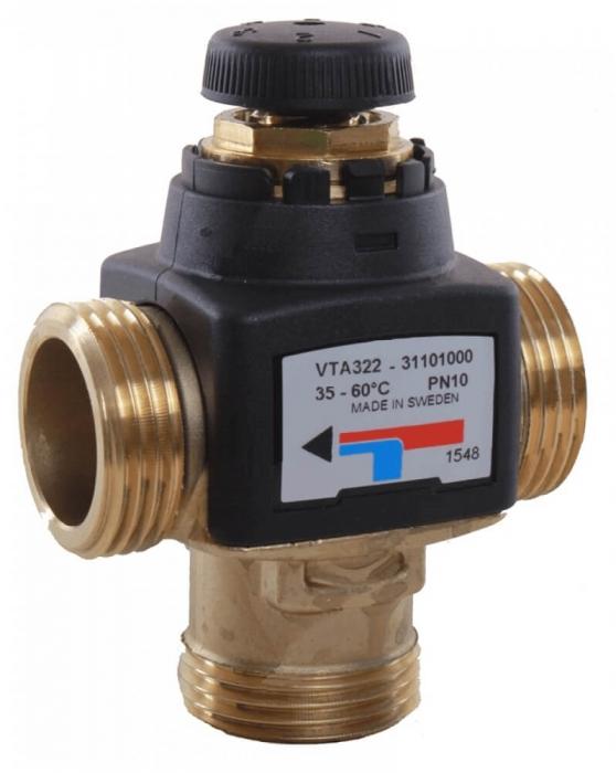 Ventil termostatic de amestec ESBE VTA 322-1 P 20-43°C 1